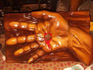 Crucifix hand